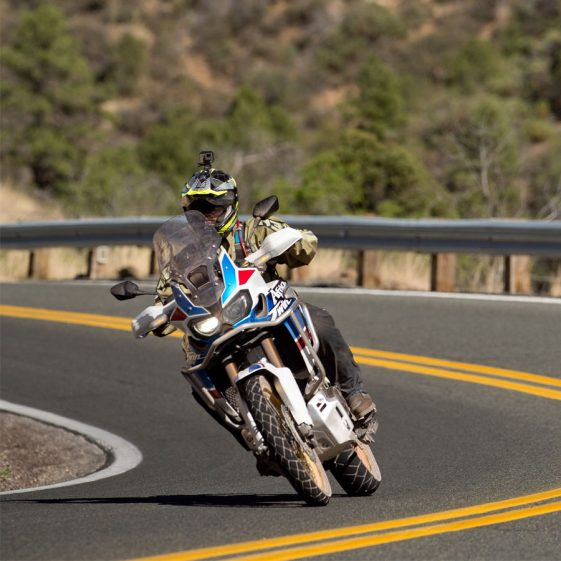 Honda Africa Twin Adventure Sports on road