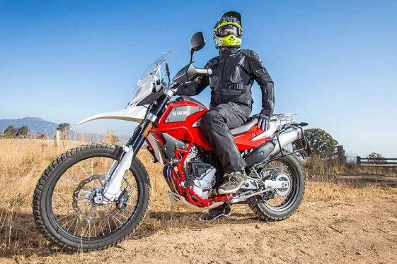 SWM Superdual X Adventure Motorcycle