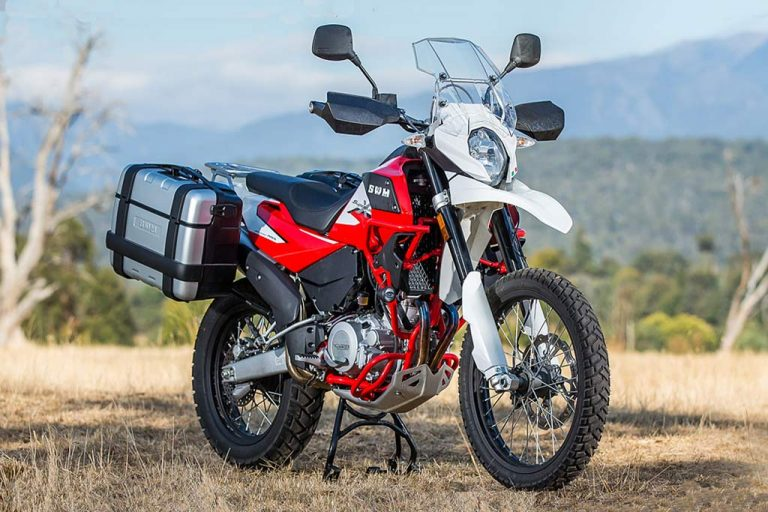 SWM SuperDual Adventure Motorcycle
