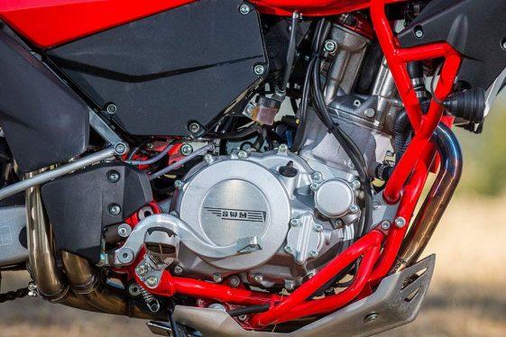 SWM Superdual X Adventure Motorcycle
