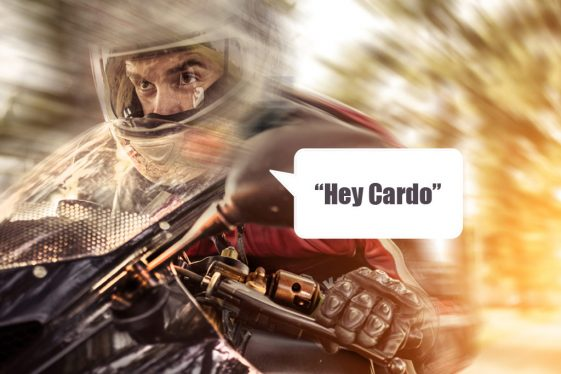 Cardo Packtalk Slim Motorcycle Headset
