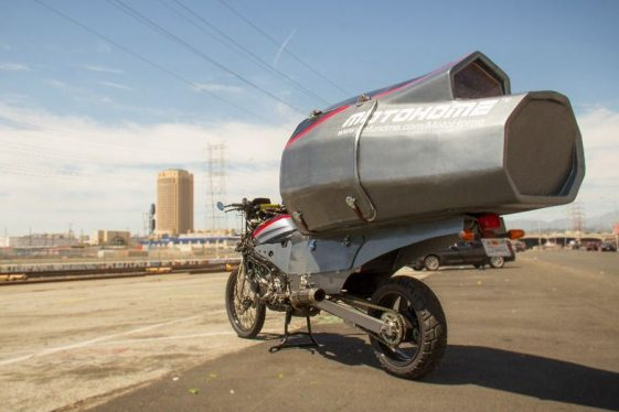 World's first house on an Adventure Motorcycle