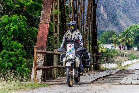 Dual Sport ride Cuba