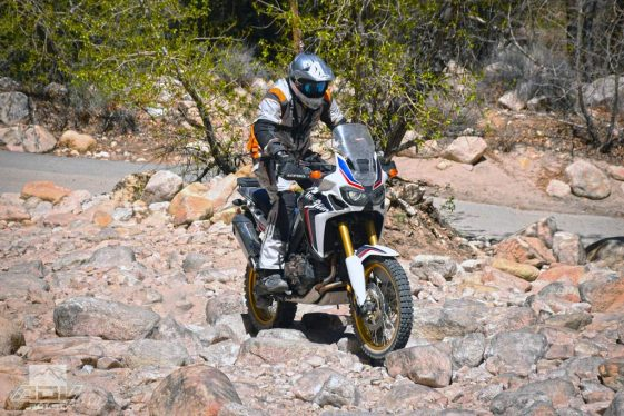 Honda Africa Twin CRF1000L Adventure Motorcycle