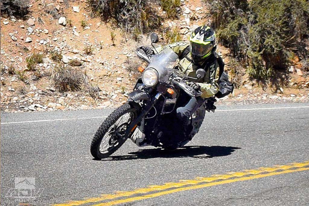 Royal Enfield Himalayan Adventure Motorcycle Highway reliability
