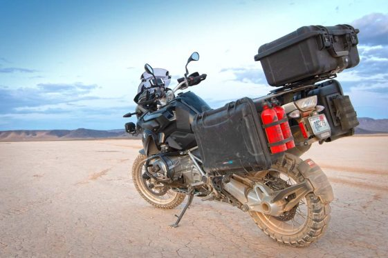 DrySpec H35 Adventure Motorcycle luggage