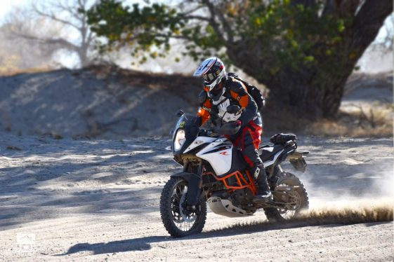 How to Ride Sand on a big adventure bike