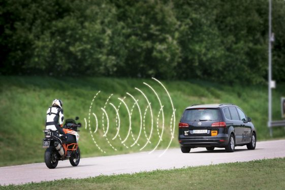 KTM Adaptive Cruise Control and Blind Spot Detection Systems