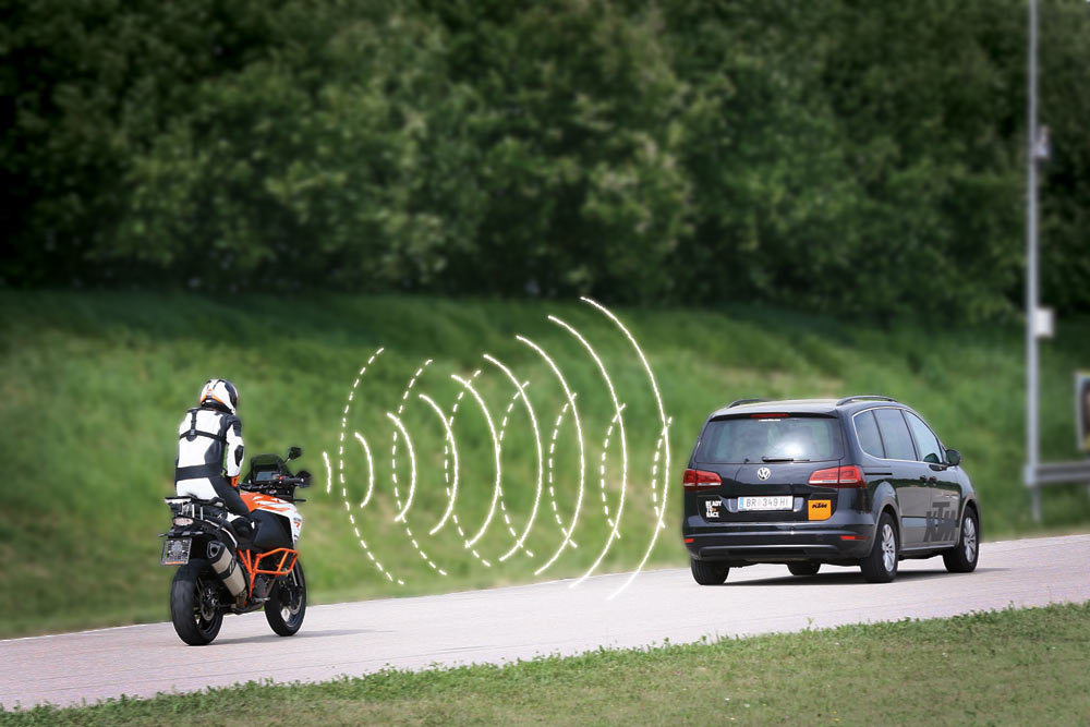 KTM To Introduce Adaptive Cruise Control & Blind Spot Detection