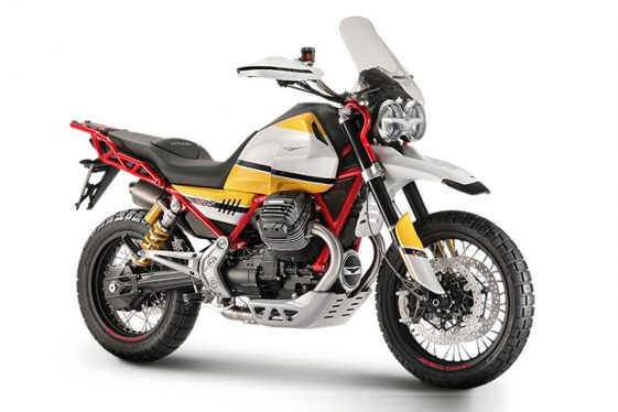 Moto Guzzi Middleweight Adventure Bike