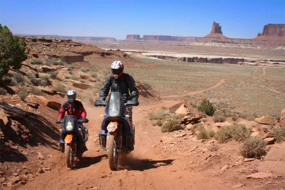 Moab Immersions Tour and Training Motordiscovery Adventure Motorcycle
