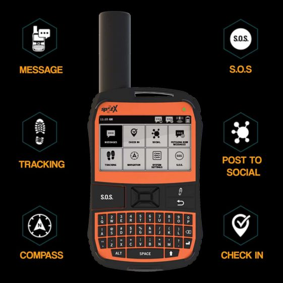 SPOT X 2-Way-Satellite-Messenger-Device
