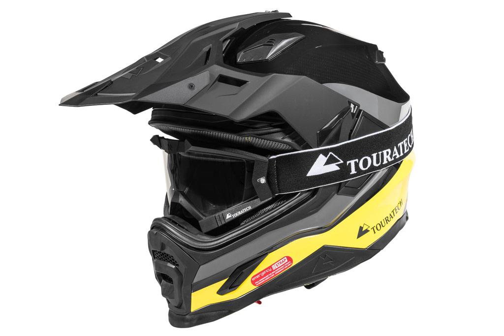 Touratech Launches New Aventuro Carbon 2 Dual Sport Helmet Adv Pulse
