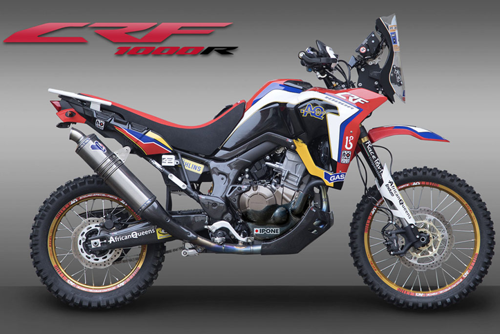 crf1000r africa twin goes full rally raid with upgrade. Black Bedroom Furniture Sets. Home Design Ideas