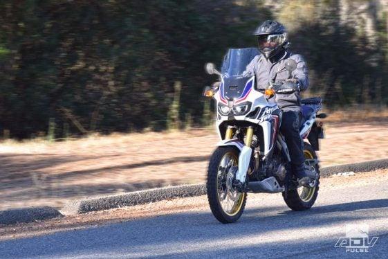 Honda Africa Twin CRF1000L Adventure Motorcycle Windscreen