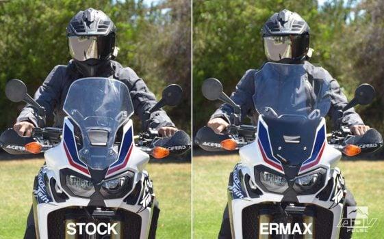 Honda Africa Twin CRF1000L Adventure Motorcycle Ermax High Screen