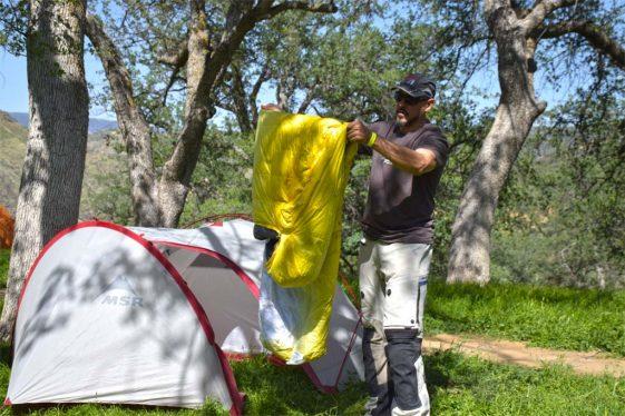 Motorcycle Camping Gear bargains Adventure Motorcycle