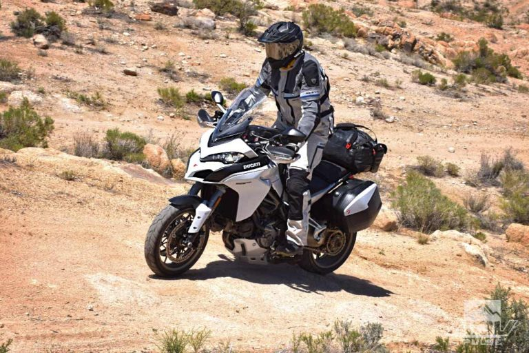 Ducati Multistrada 1250 S Adventure Motorcycle offroad