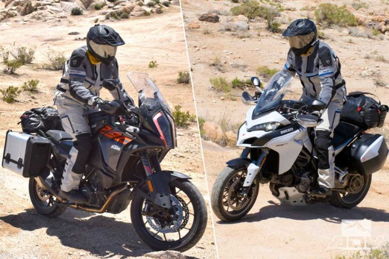 Ducati Multistrada 1260 S vs KTM 1290 Super Adventure S comparo