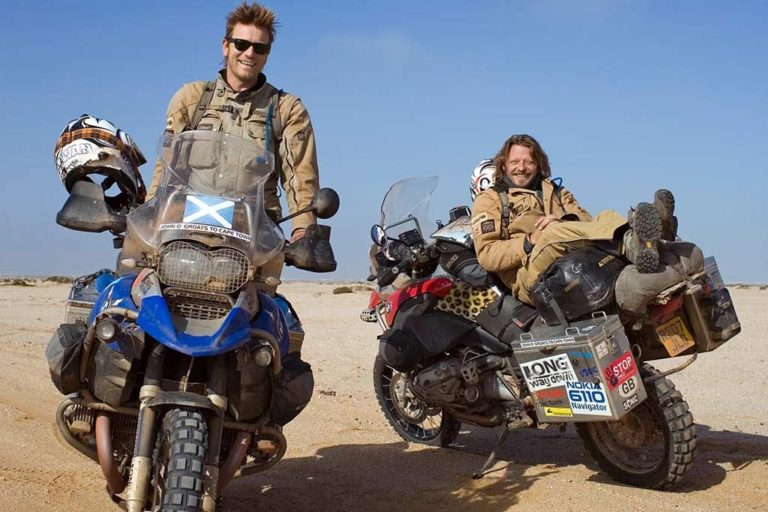 Long way Up Charley Boorman and Ewan McGregor Adventure Motorcycle