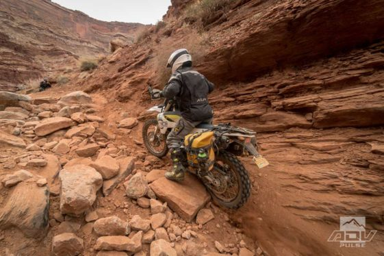Lockhart Basin: Rides in Moab on a Dual Sport Motorcycle