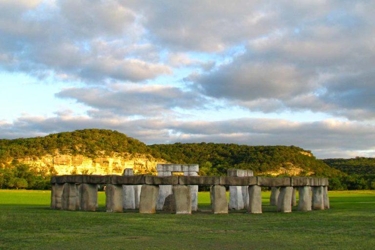 Stonehenge II in Hunt Texas