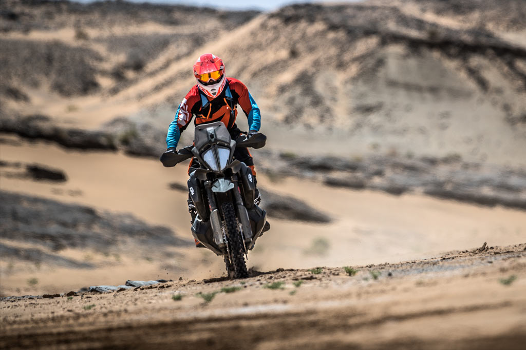 KTM 790 Adventure R Ultimate Race Merzouga Rally Morocco