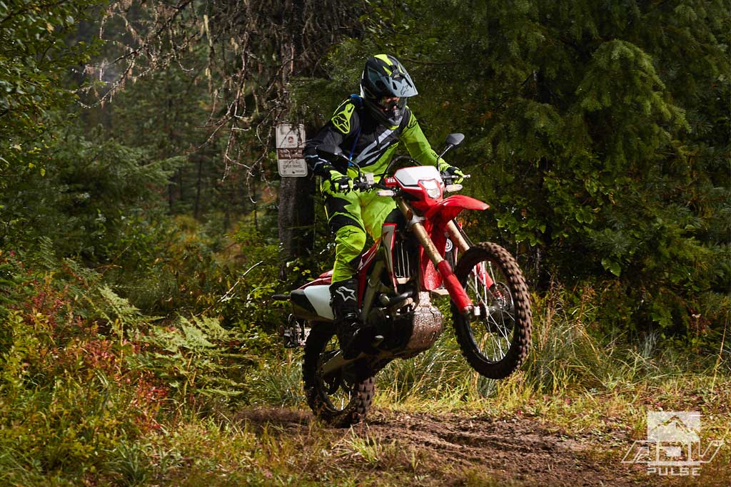 Honda Crf L Dual Sport Motorcycle Review on Crf 450 Dual Sport
