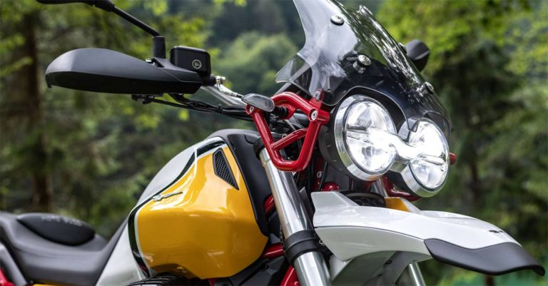 Moto Guzzi V85 TT Adventure Motorcycle