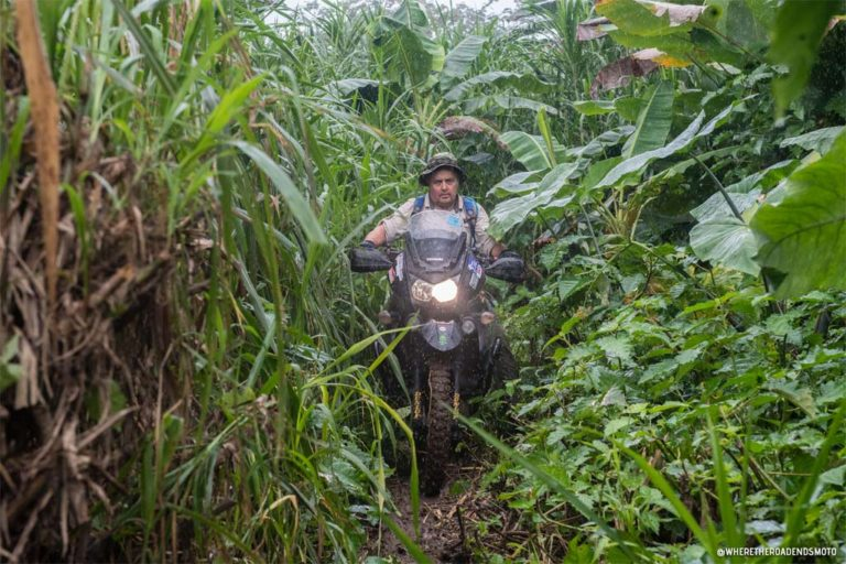 Where the Road Ends Motorcycle journey through Darien Gap