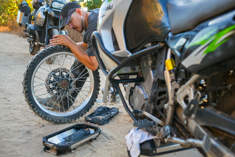 Starter's Guide to Adventure Bike Tools and Trailside Repairs