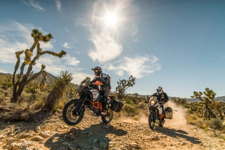 Southern California BDR Adventure Motorcycle route