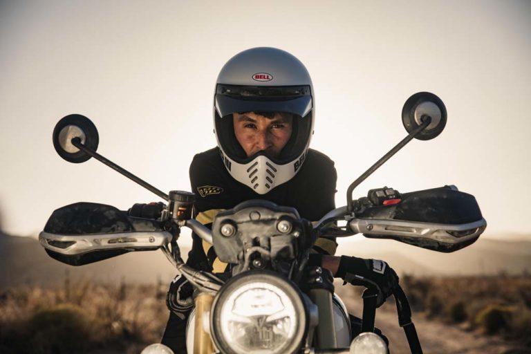 Triumph Scrambler 1200 Baja Race Bike