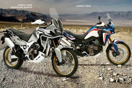 new colors and pricing for 2019 honda africa twin lineup. Black Bedroom Furniture Sets. Home Design Ideas