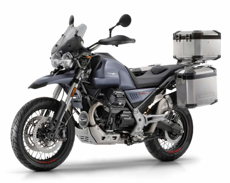 Moto Guzzi V85 TT Adventure Motorcycle
