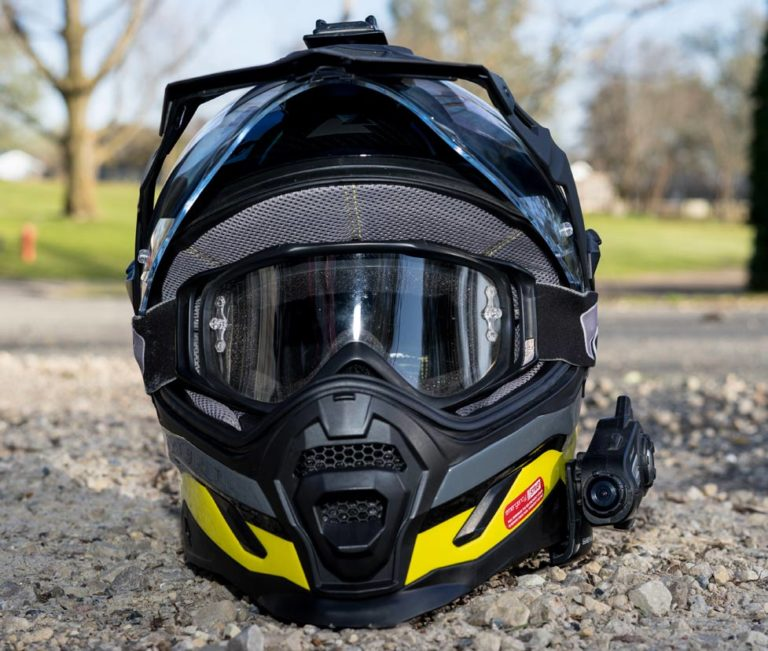 Touratech Aventuro Carbon 2 Adventure Motorcycle Helmet