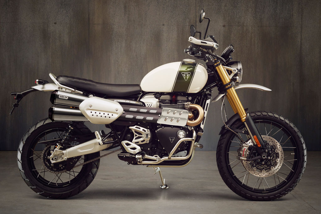 Triumph Scrambler 1200 Adventure Motorcycle