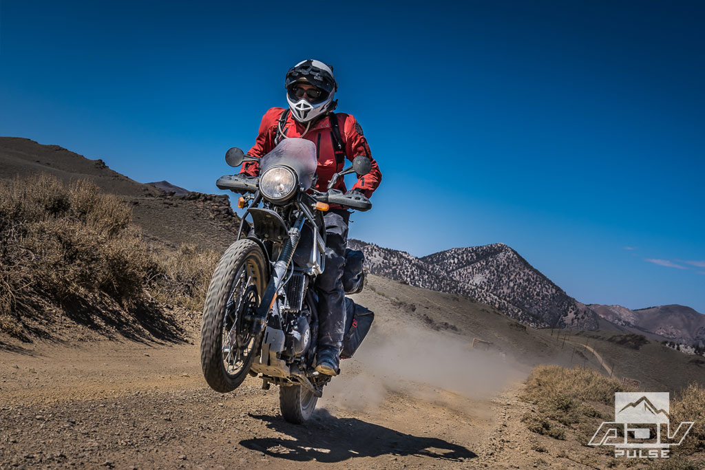 Getting High On The Royal Enfield Himalayan Adv Pulse