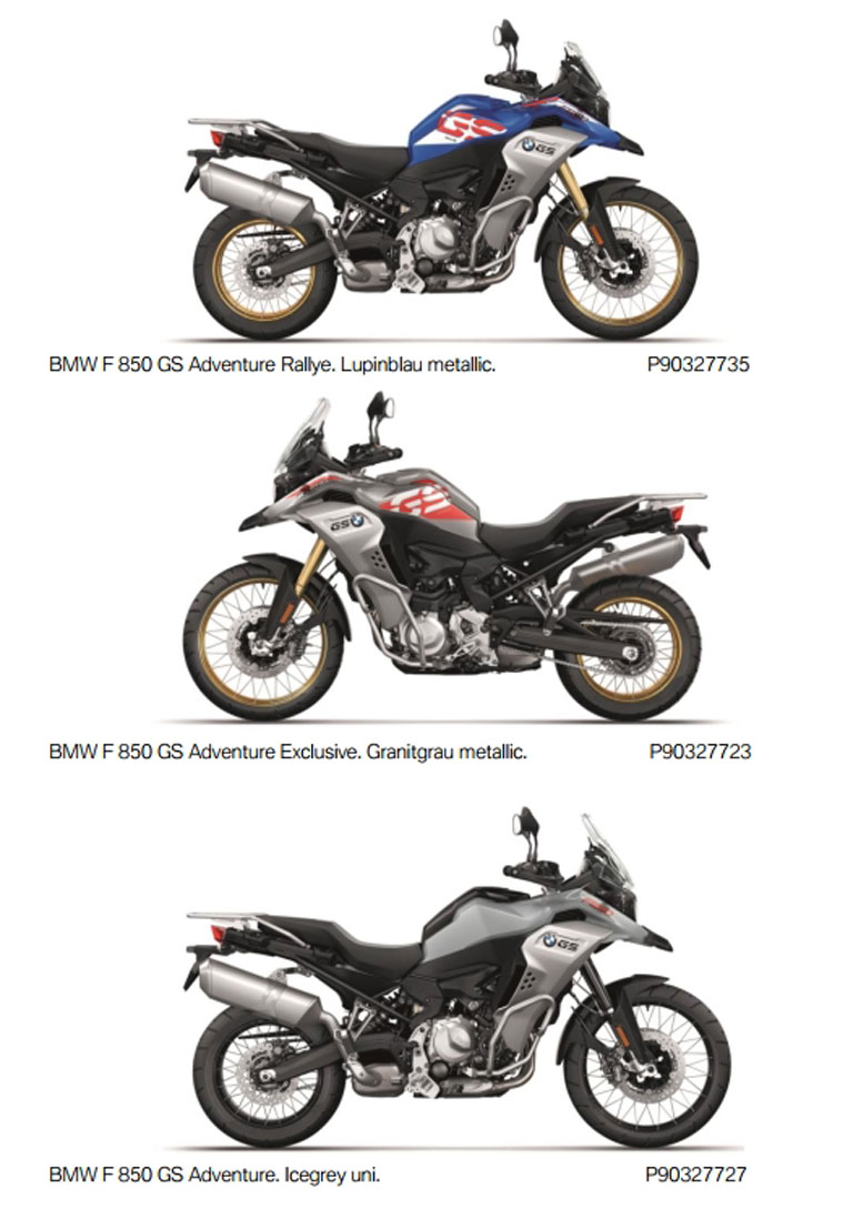 Pleasing All New Bmw F850Gs Adventure Revealed For 2019 Adv Pulse Unemploymentrelief Wooden Chair Designs For Living Room Unemploymentrelieforg