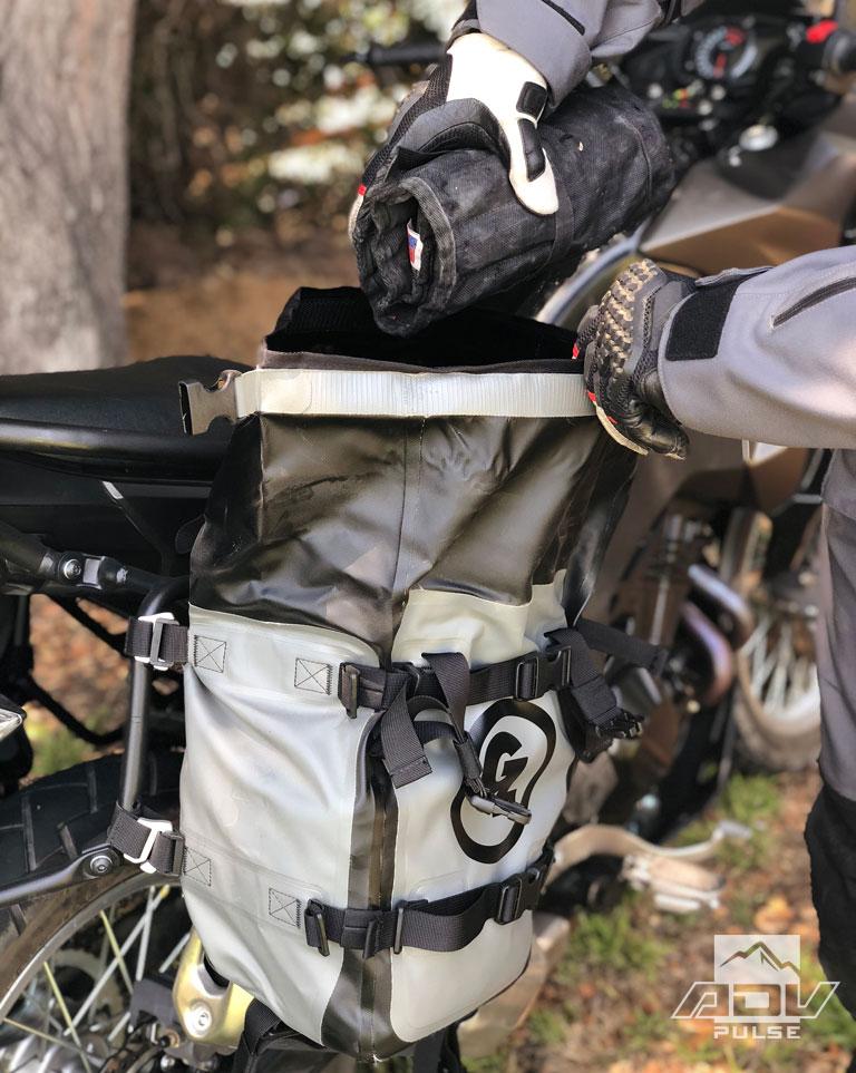 Giant Loop Mototrekk Soft Panniers Adventure Motorcycle