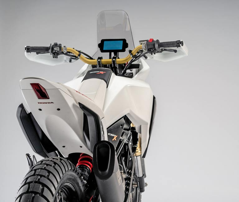 Honda CB125X Adventure Motorcycle Patent