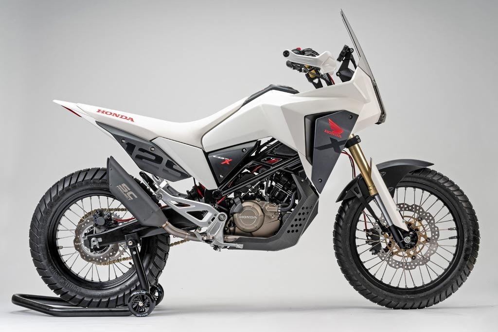 honda cb125x honda r d reveals 125cc adventure bike concept adv pulse. Black Bedroom Furniture Sets. Home Design Ideas