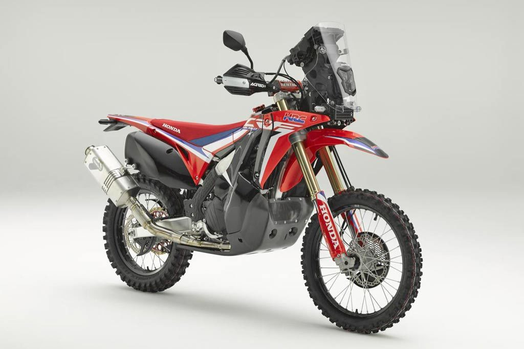 Honda CRF450L Rally Concept Bike