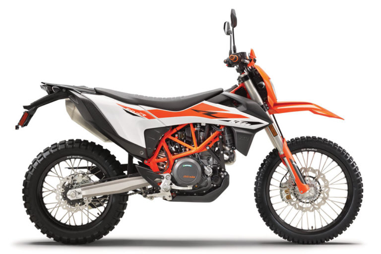 Ktm Adds A Little Adventure To The 2019 Ktm 690 Enduro R