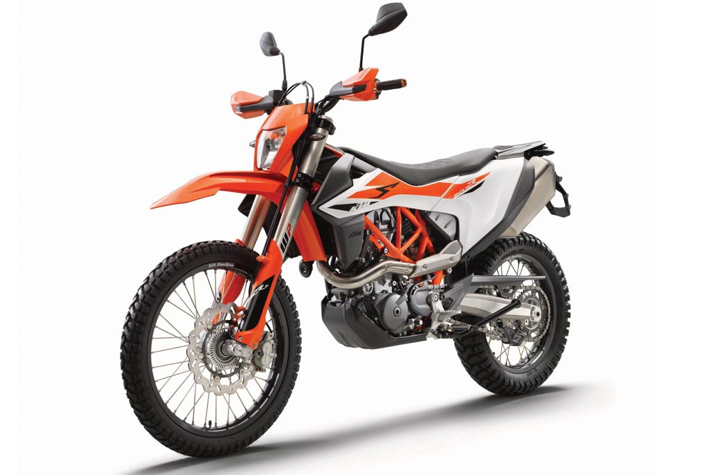 KTM Adds a Little 'Adventure' to the 2019 KTM 690 Enduro R
