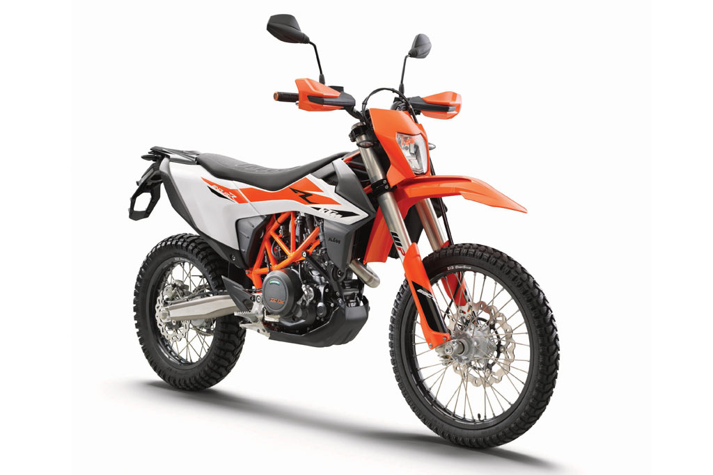 ktm adds a little 39 adventure 39 to the 2019 ktm 690 enduro r. Black Bedroom Furniture Sets. Home Design Ideas