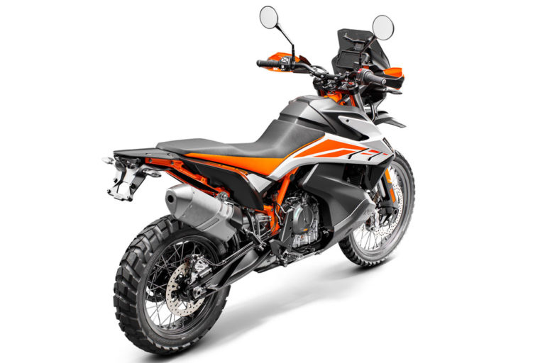 KTM 790 Adventure Motorcycle