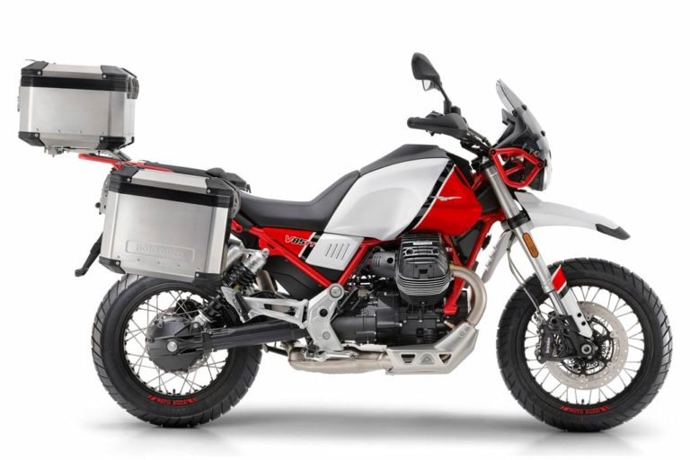 Moto Guzzi V85TT Adventure Motorcycle