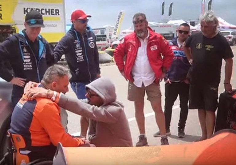 Nicola Dutto Dakar 2019