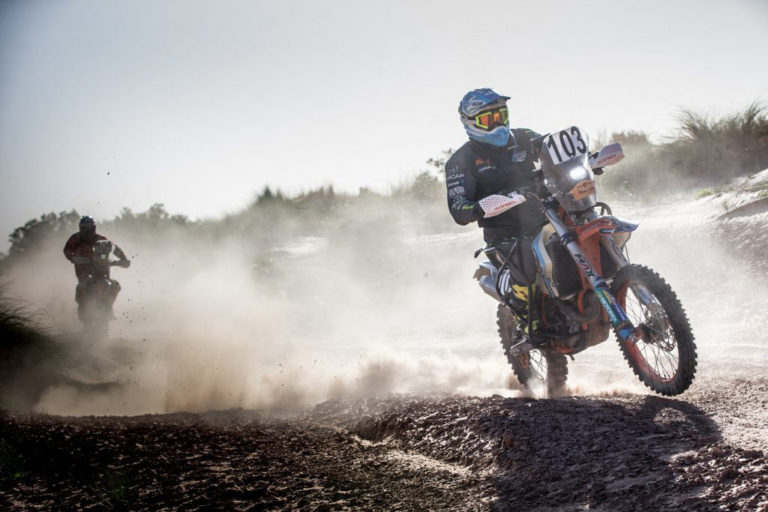 Nicola Dutto - paraplegic to participate in the Dakar Rally